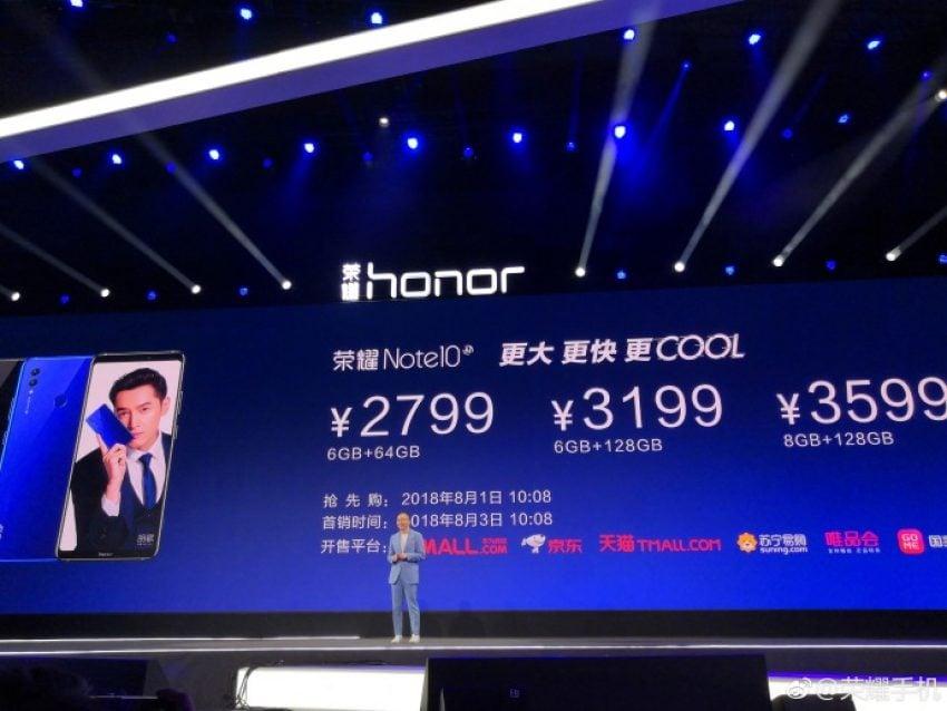 Tabletowo.pl Duży ekran i duża bateria. Honor prezentuje model Note 10 Android GSM Huawei Smartfony