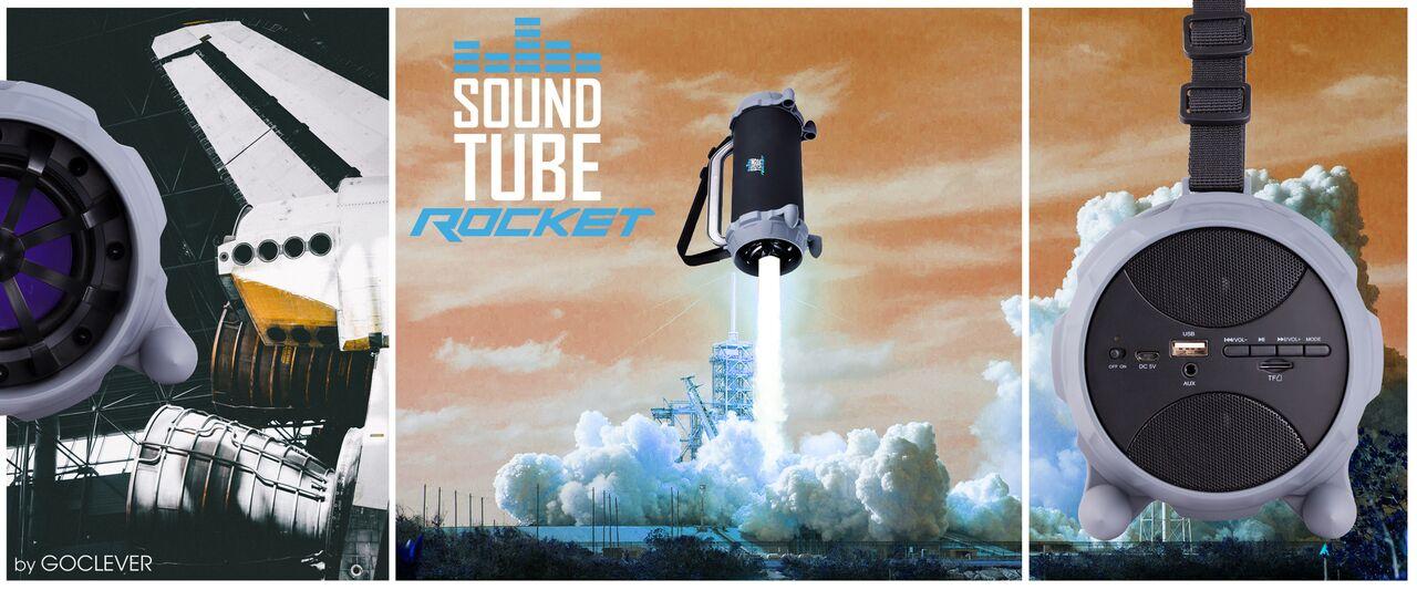 Tabletowo.pl GOCLEVER Sound Tube Rocket to nie pierwszy lepszy głośnik bezprzewodowy, chociaż wygląda niepozornie Audio GOCLEVER Nowości