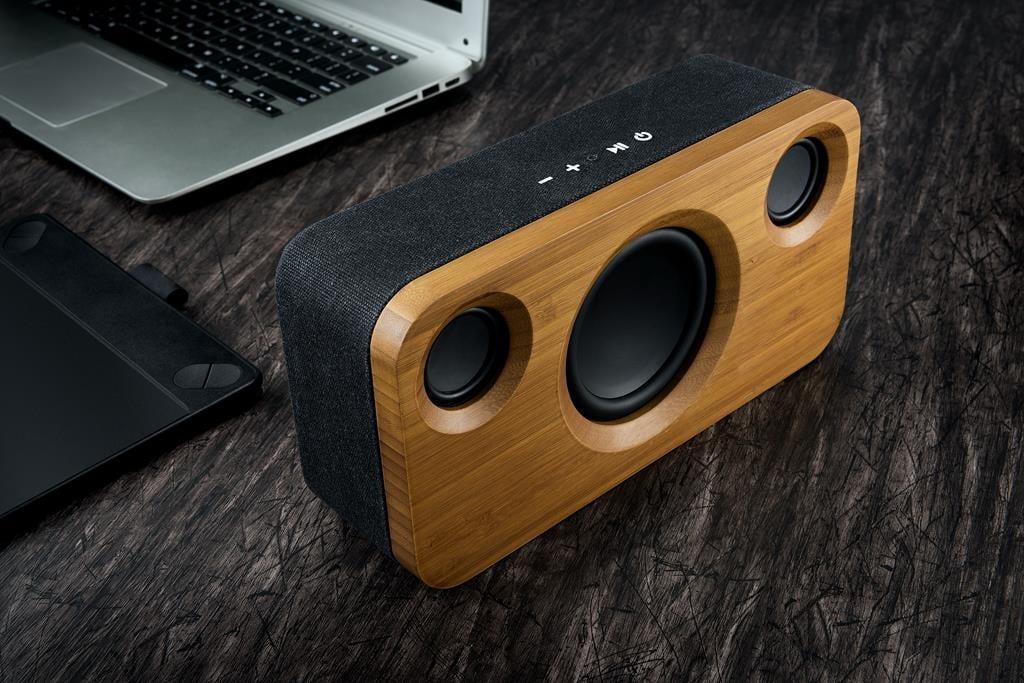 Platinet BAMBOO to jeden z najładniejszych głośników Bluetooth. Za taki design trzeba jednak trochę zapłacić 17