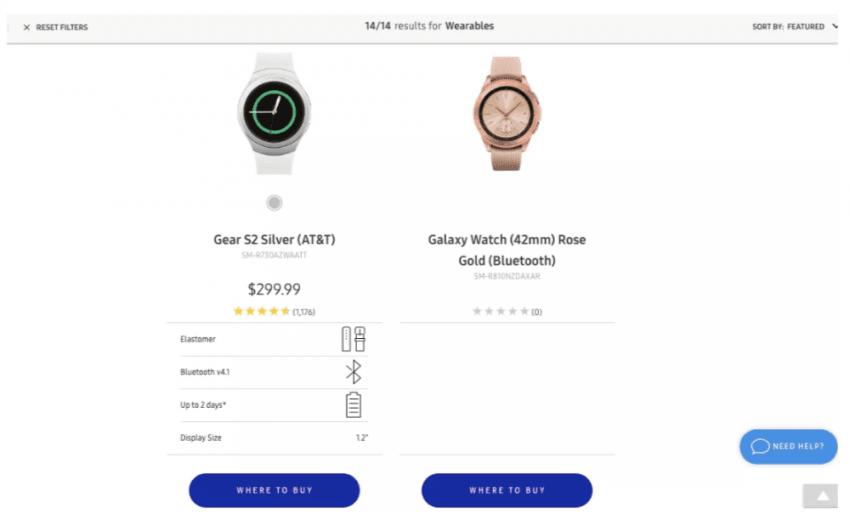 Samsung nie dopilnował swojej strony internetowej. Wyciekły zdjęcia nowego Galaxy Watch 18