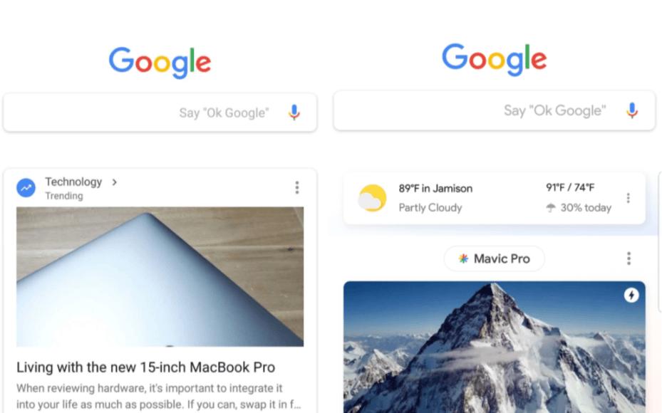 Wielu miało nadzieję, że nie będzie zmian w wyglądzie Google Feed, ale coraz więcej osób dostaje tę aktualizację 20