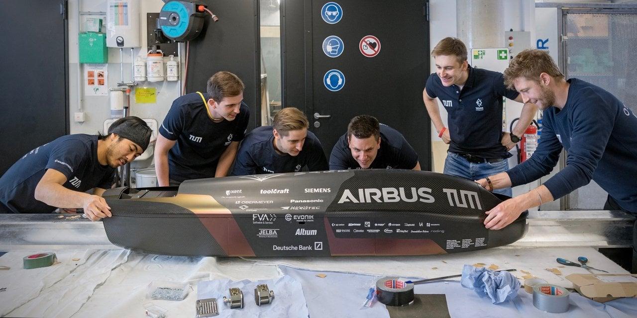 Rekord prędkości w tubie Hyperloop pobity. Kapsuła mknęła z szybkością 457 km/h 20