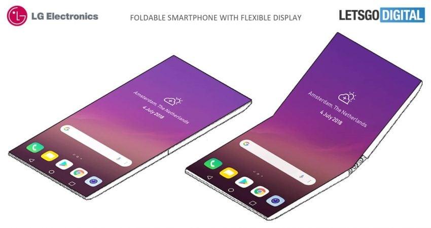 Czyli tak widzisz przyszłość składanych smartfonów, LG? Jako kieszonkowe sprzęty wiecznie obserwujące nasze otoczenie? 17