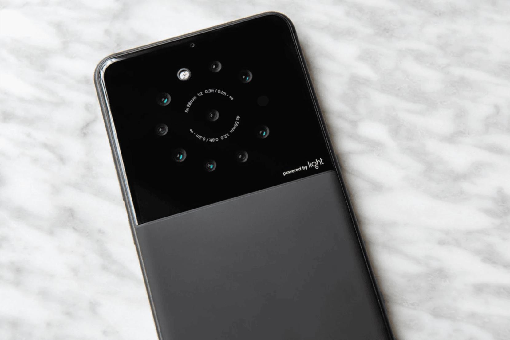 Sony podejmuje współpracę z firmą, która miała ochotę zaprezentować smartfon z dziewięcioma aparatami 16