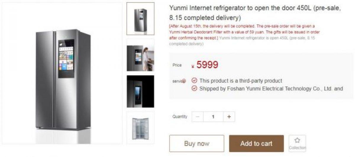 Xiaomi brnie dalej we wszechstronność oferty. Tym razem zaprezentowano inteligentną lodówkę 20