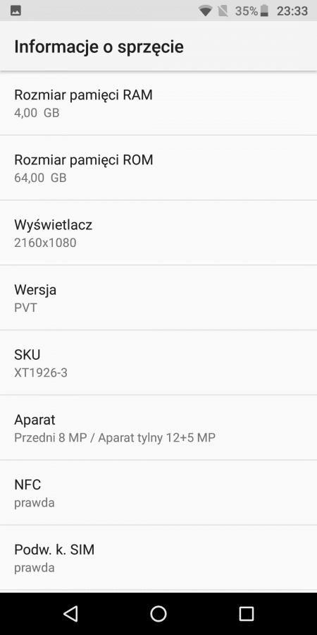 Recenzja Motoroli Moto G6 Plus - smartfona z potencjałem 21