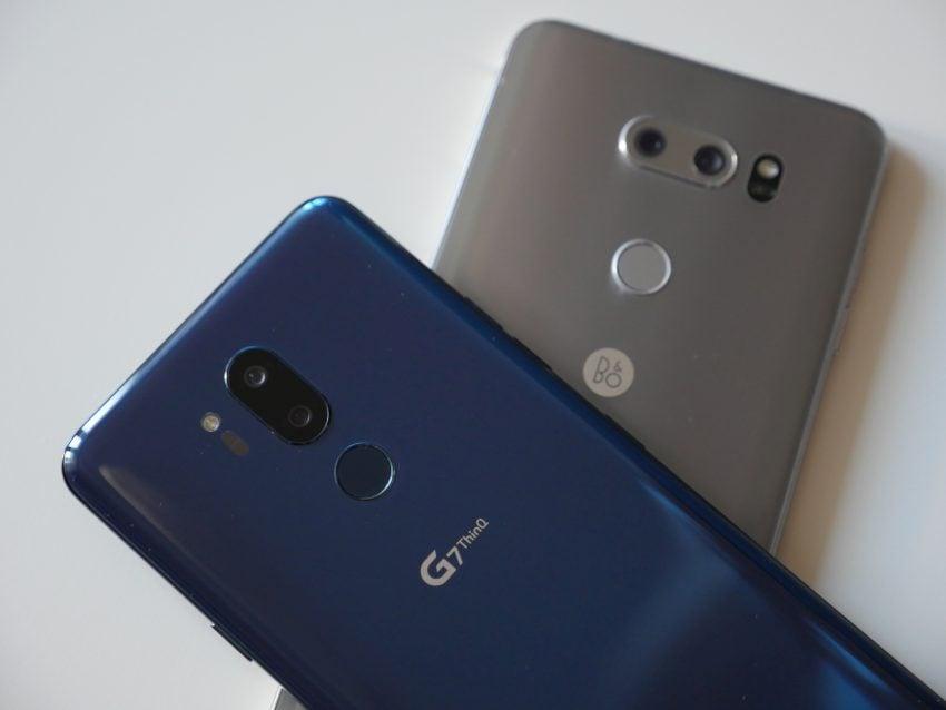 Dwa najlepsze smartfony LG w jednym miejscu, czyli porównanie G7 ThinQ i V30 122