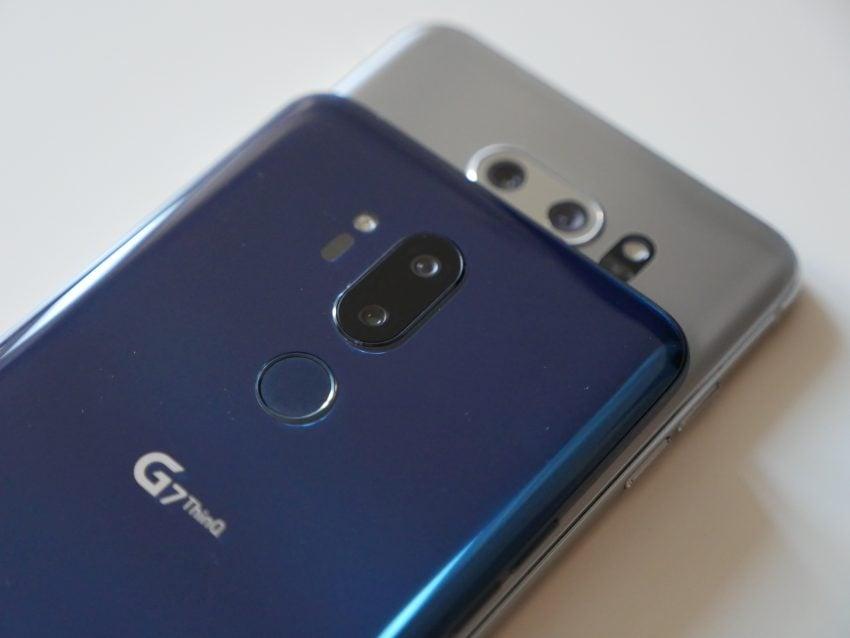 Dwa najlepsze smartfony LG w jednym miejscu, czyli porównanie G7 ThinQ i V30 123