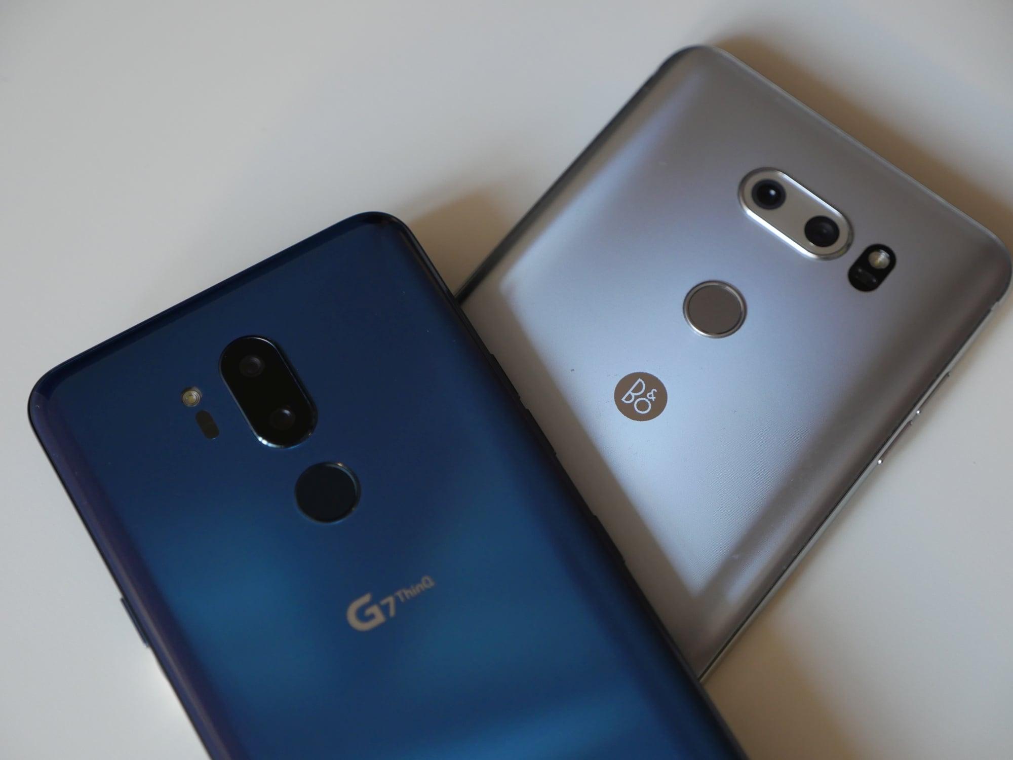 Dwa najlepsze smartfony LG w jednym miejscu, czyli porównanie G7 ThinQ i V30 19
