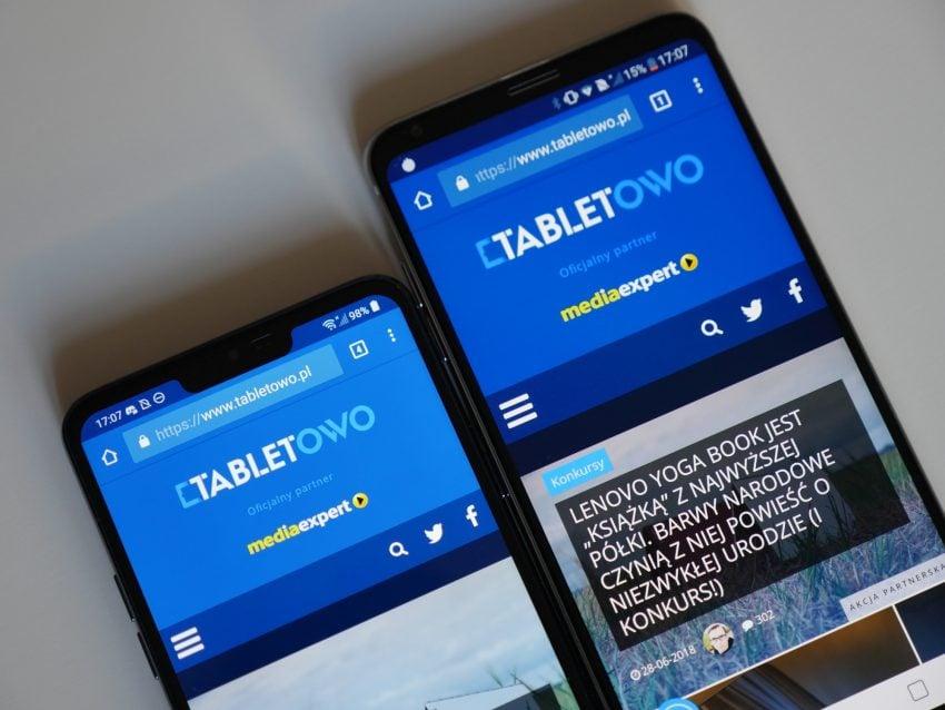 Dwa najlepsze smartfony LG w jednym miejscu, czyli porównanie G7 ThinQ i V30 127