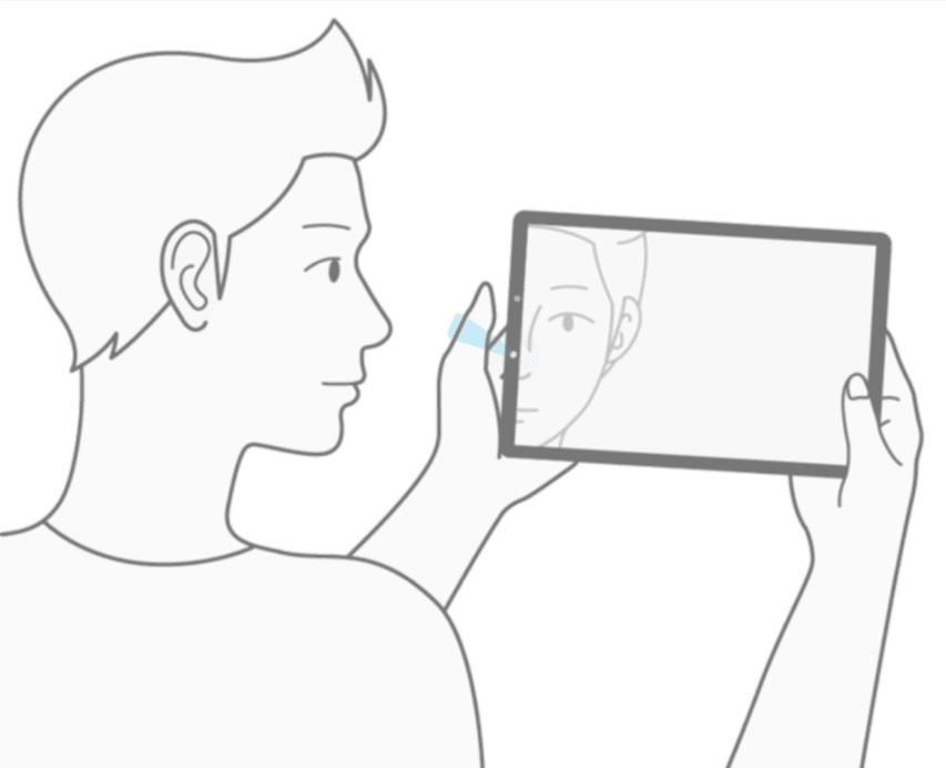 Tabletowo.pl Face ID w iPadzie Pro kontra Inteligentne skanowanie w Galaxy Tab S4. Szykuje się wojna na rozpoznawanie twarzy w tabletach Apple Samsung Tablety