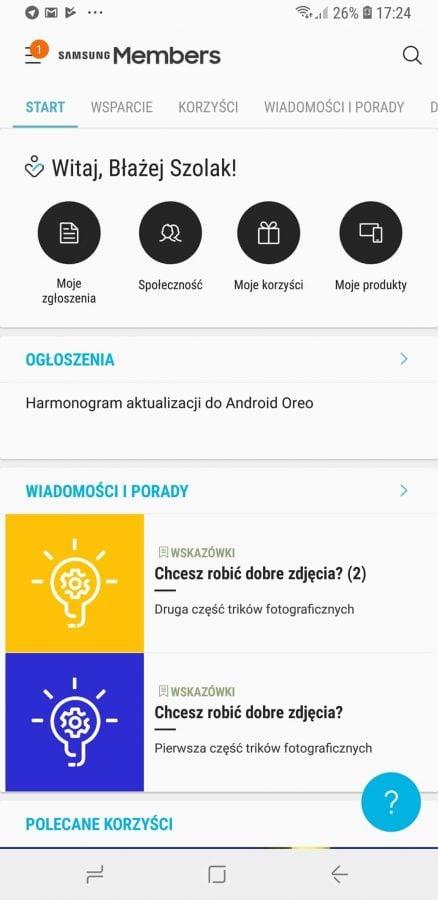 Tabletowo.pl W tym roku jeszcze trzy Samsungi dostaną aktualizację do Androida Oreo. Wśród nich jest jeden tablet Aktualizacje Android Samsung Smartfony Tablety