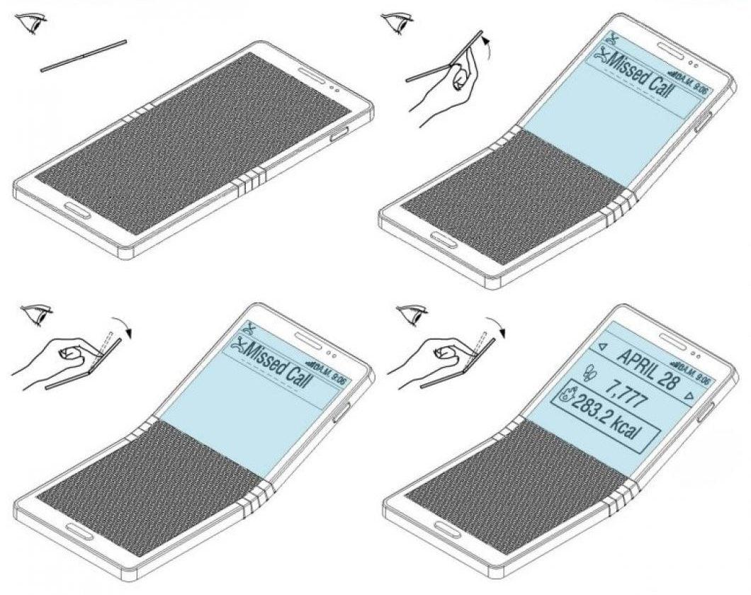 Tabletowo.pl Składany smartfon Samsunga może pojawić się już w przyszłym roku. Pomysłów na wykorzystanie zawiasu urządzenia jest sporo Ciekawostki Samsung Smartfony Technologie