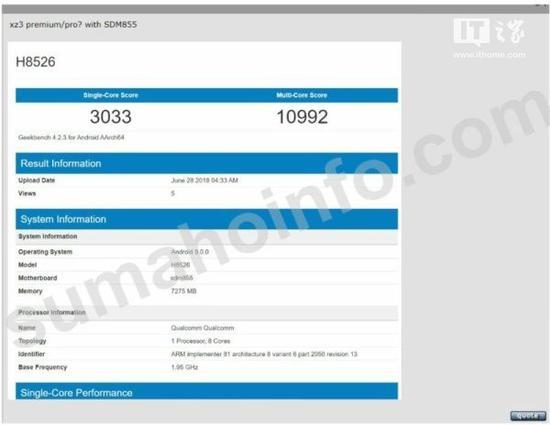 Tabletowo.pl Nowy smartfon Xiaomi z procesorem Snapdragon 855 dostrzeżony w GeekBench. Będzie moc? Plotki / Przecieki Qualcomm Technologie