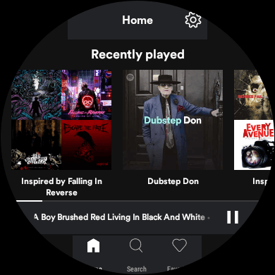 Tabletowo.pl Spotify Lite może okazać się przydatne - nie na smartfonie, a na smartwatchu z Wear OS Android Aplikacje Ciekawostki Wearable