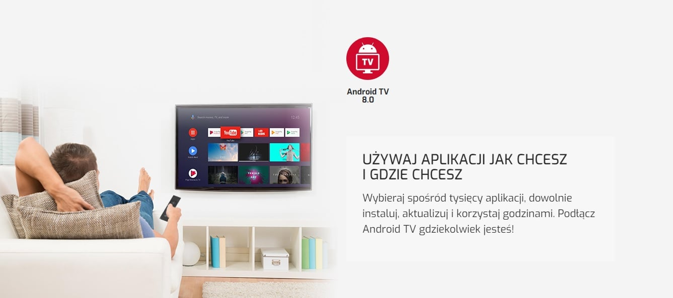 techBite Flix TV Box z Android TV 8.0 i Showmaxem na 30 dni w prezencie już do kupienia w Polsce 14