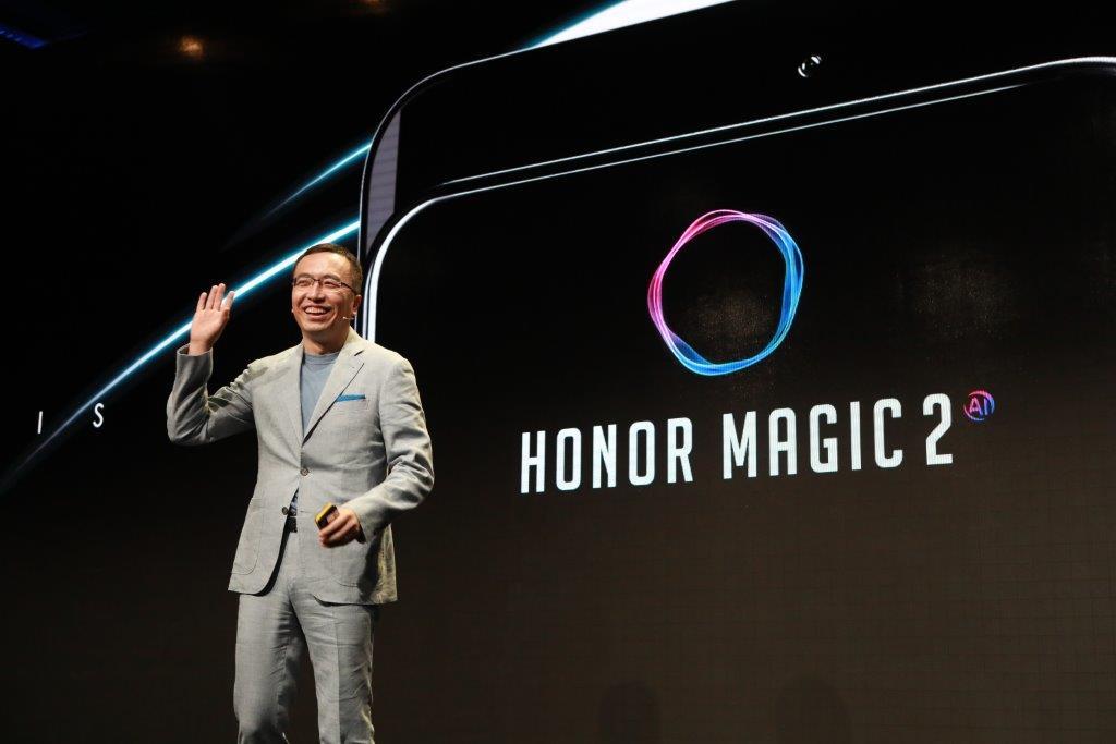 Tabletowo.pl Honor Magic 2 będzie miał aż sześć aparatów - po trzy na przodzie i tyle Android Huawei Smartfony