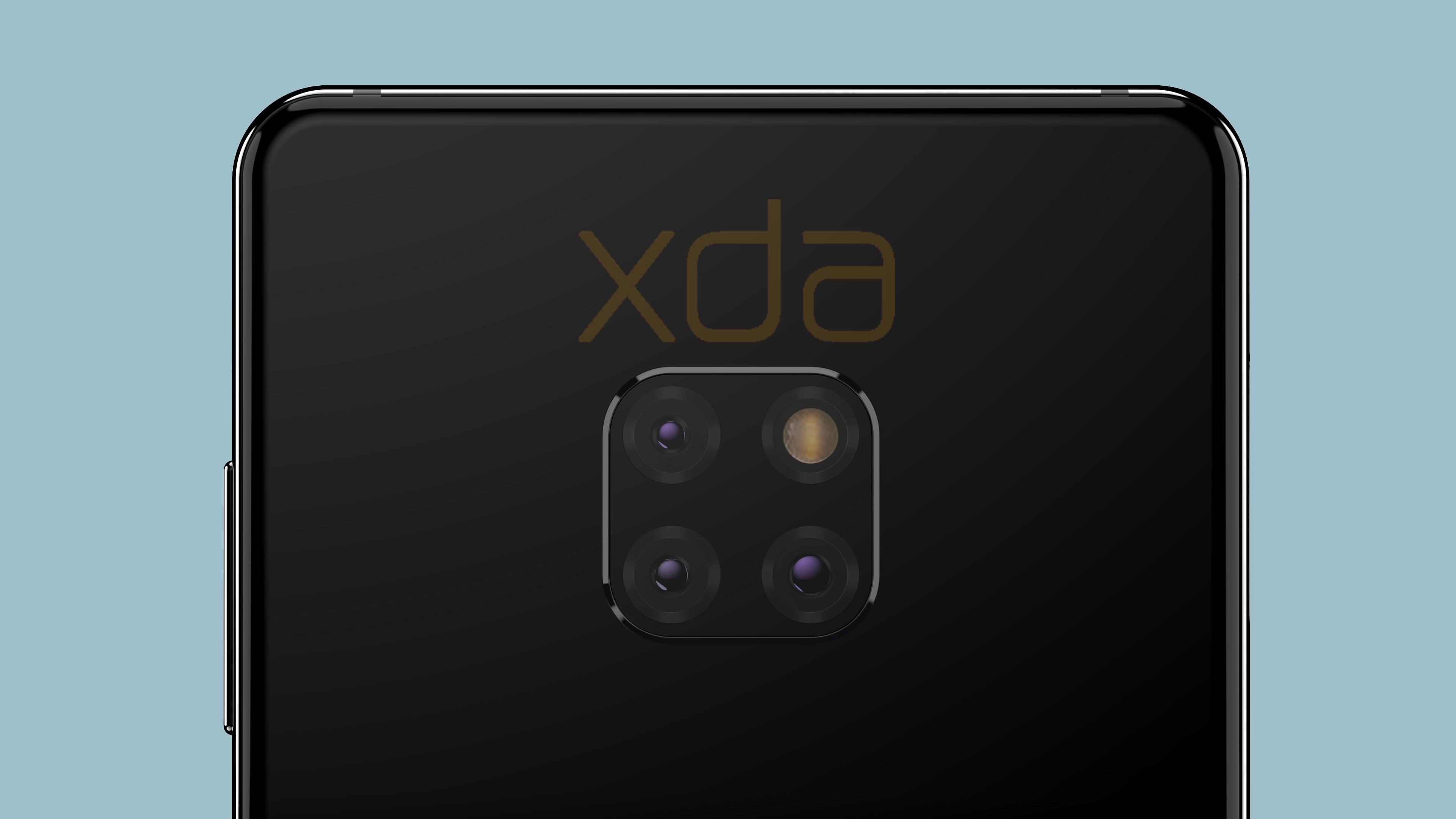 Tak będzie wyglądał Huawei Mate 20. Trzeba przyznać, że plecki prezentują się dość... oryginalnie 24