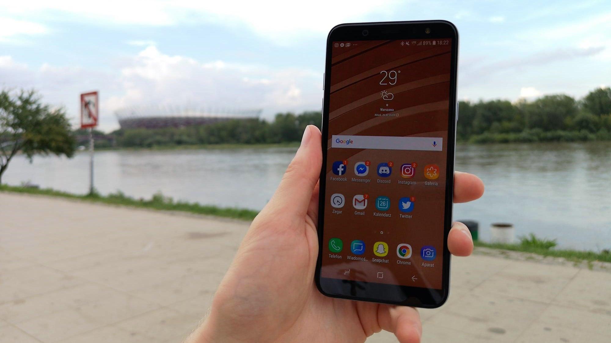 Tabletowo.pl Recenzja Samsung Galaxy A6. W skrócie: poprawny smartfon Android Recenzje Samsung Smartfony