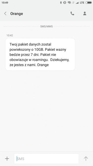 Tabletowo.pl 10 GB za darmo! Orange rozdaje pakiety internetu z okazji Kraków Live Festival GSM Promocje