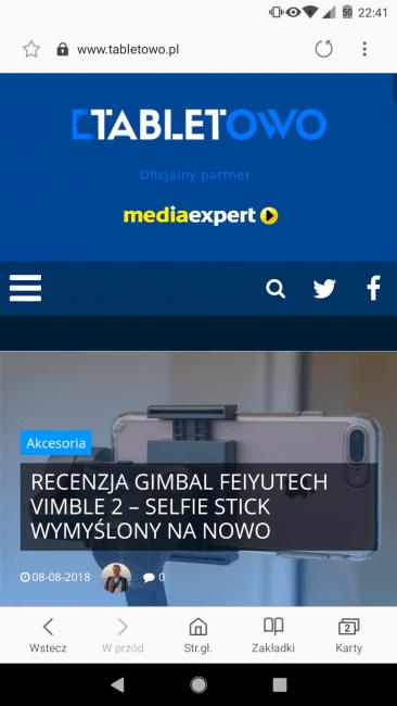 Tabletowo.pl Już można instalować Samsung Browser Go - jak sprawdza się lekka przeglądarka od producenta smartfonów? Android Aplikacje Prześwietlenie Aplikacji Recenzje Aplikacji/Gier Samsung