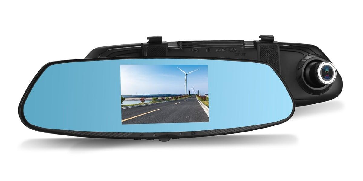 Tabletowo.pl VORDON DVR-190 może być lusterkiem wstecznym, wideorejestratorem i kamerą cofania w jednym Akcesoria Moto Nowości