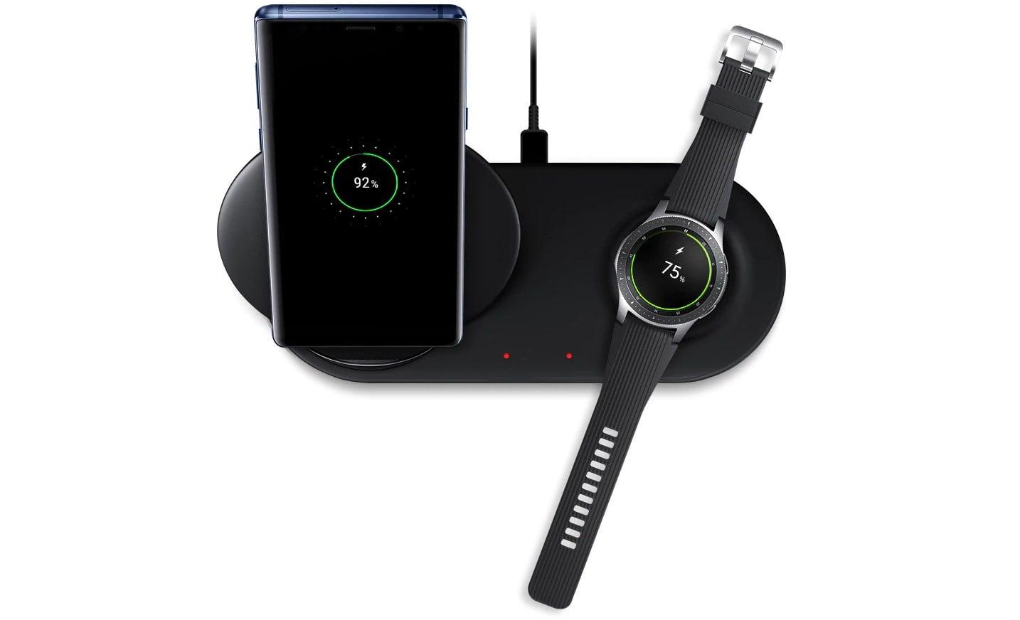 Tabletowo.pl Poznaliśmy cenę podwójnej indukcyjnej ładowarki od Samsunga - Wireless Charger Duo Akcesoria Nowości Samsung