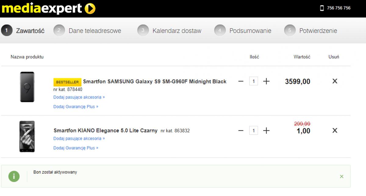 Tabletowo.pl Promocja: Kup jeden smartfon, a drugi (Kiano) dostaniesz za złotówkę! Promocje Smartfony