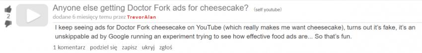 Tabletowo.pl Google stworzyło fikcyjną firmę sprzedającą pizzę, żeby przetestować strategie reklamowe na YouTube Ciekawostki Google Social Media