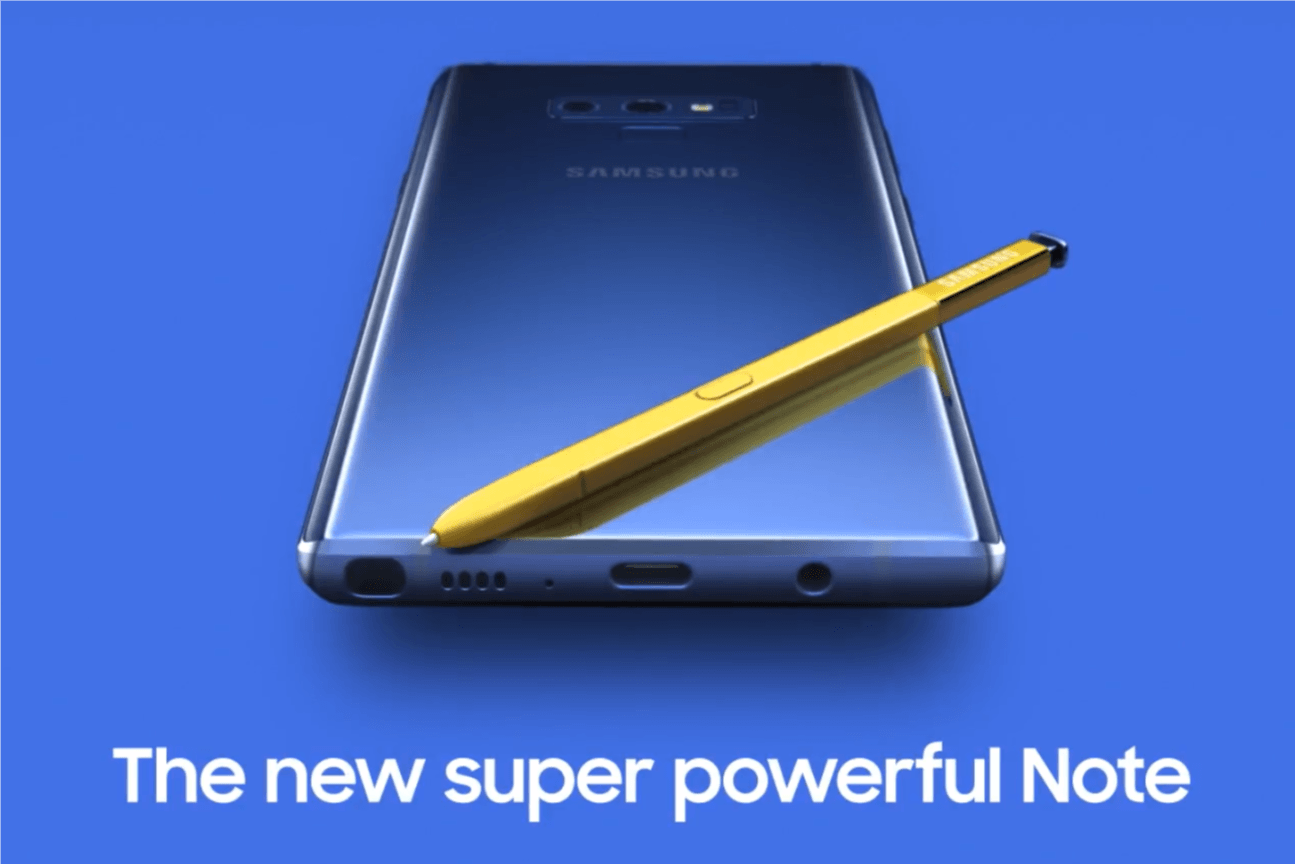 Mleko się rozlało - Samsung przypadkowo opublikował na YouTube film wprowadzający Galaxy Note 9 15