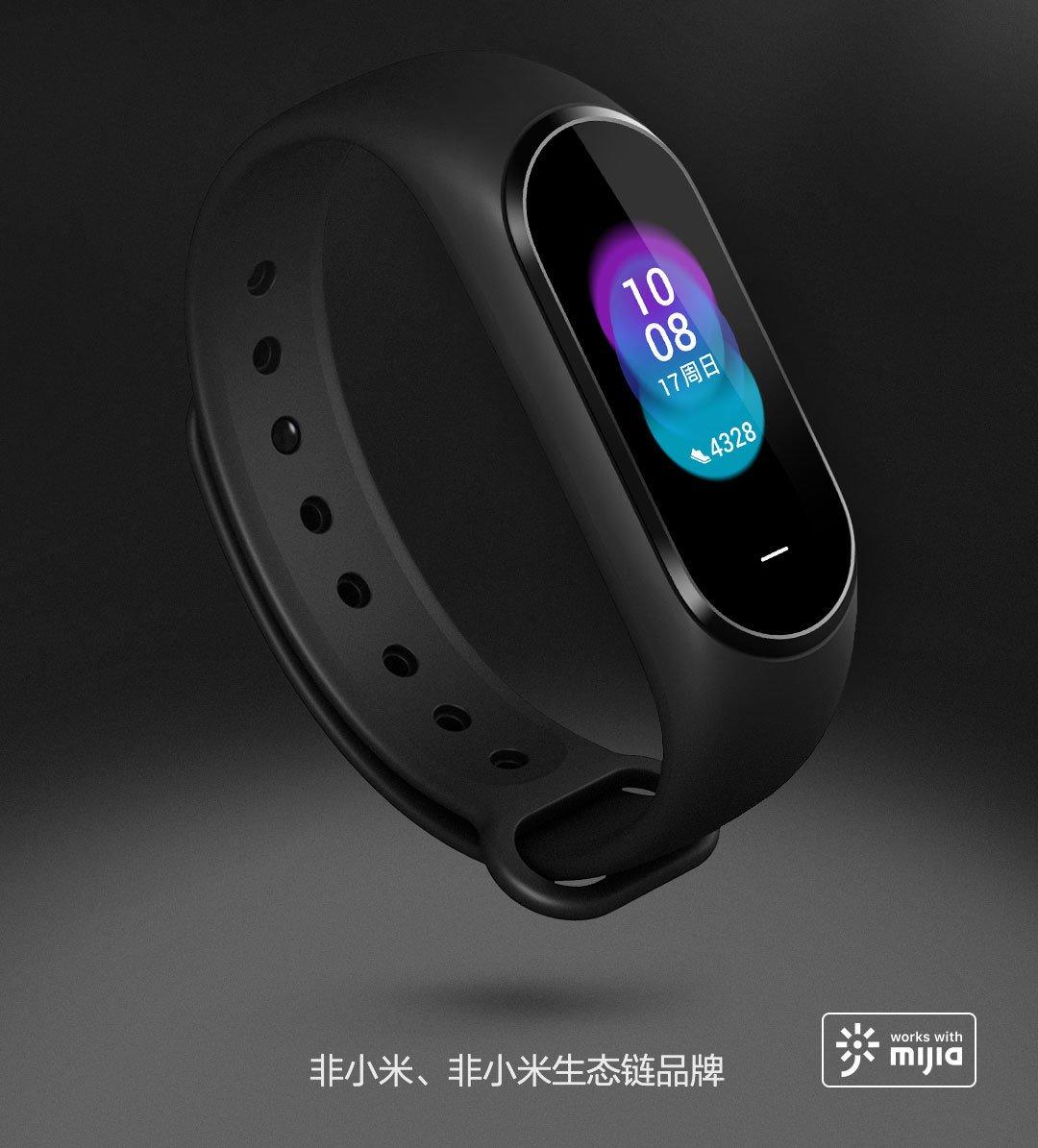 Tabletowo.pl Xiaomi zaprezentowało opaskę Hey Plus, czyli lepszą wersję Mi Band 3 Nowości Wearable Xiaomi