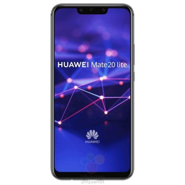 Huawei Mate 20 lite na kolejnych grafikach. Smartfon pojawi się w czarnej i złotej wersji kolorystycznej 18