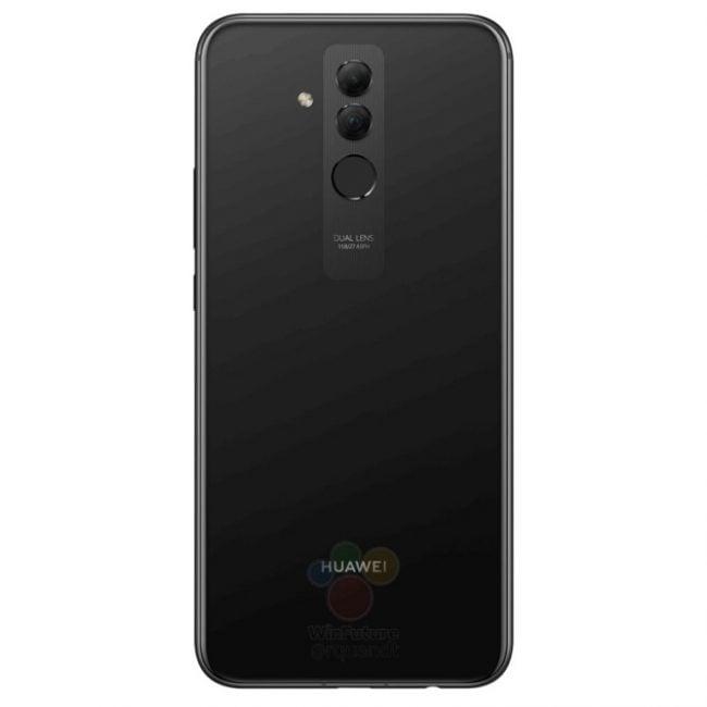 Huawei Mate 20 lite na kolejnych grafikach. Smartfon pojawi się w czarnej i złotej wersji kolorystycznej 20