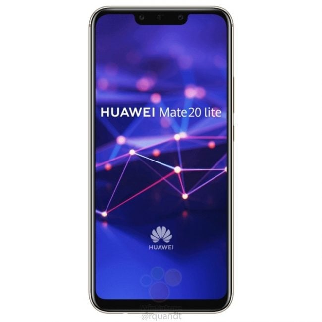 Huawei Mate 20 lite na kolejnych grafikach. Smartfon pojawi się w czarnej i złotej wersji kolorystycznej 21