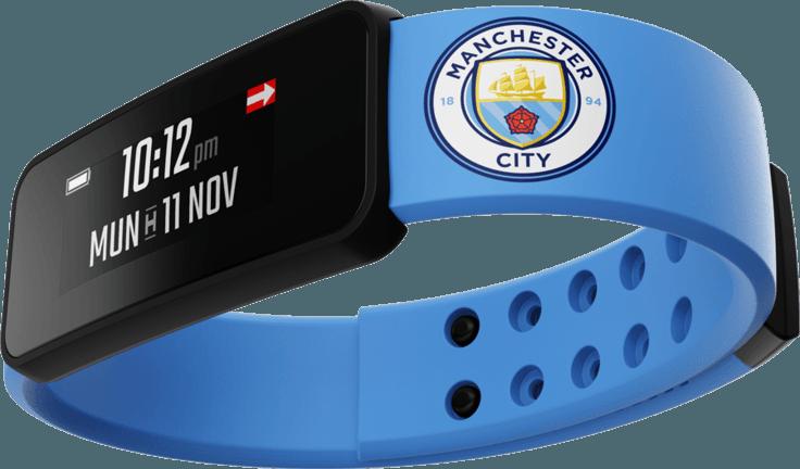Tabletowo.pl Zamiast szalika i malowania twarzy. Dzięki tej opasce kibice Manchesteru City będą w stałym kontakcie z klubem Ciekawostki Wearable