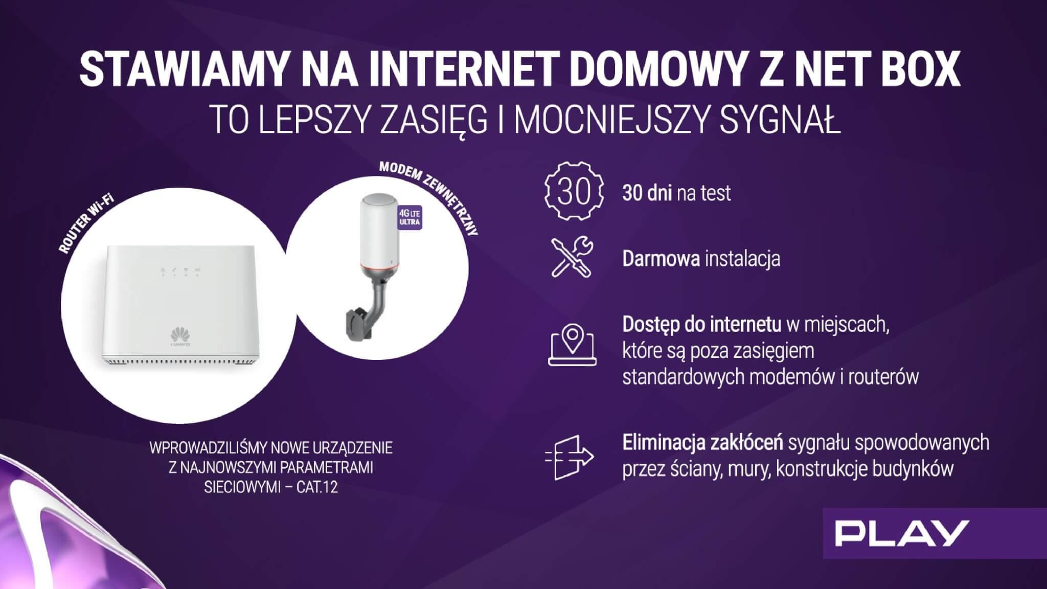 Nowa oferta internetu w Play to nawet 1 TB transferu z pełną prędkością 20