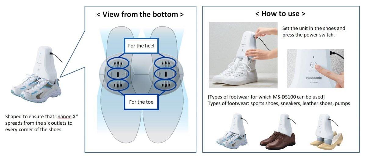 Tabletowo.pl Dzięki Panasonicowi będziesz mógł usunąć nieprzyjemny zapach z butów Akcesoria Ciekawostki Panasonic