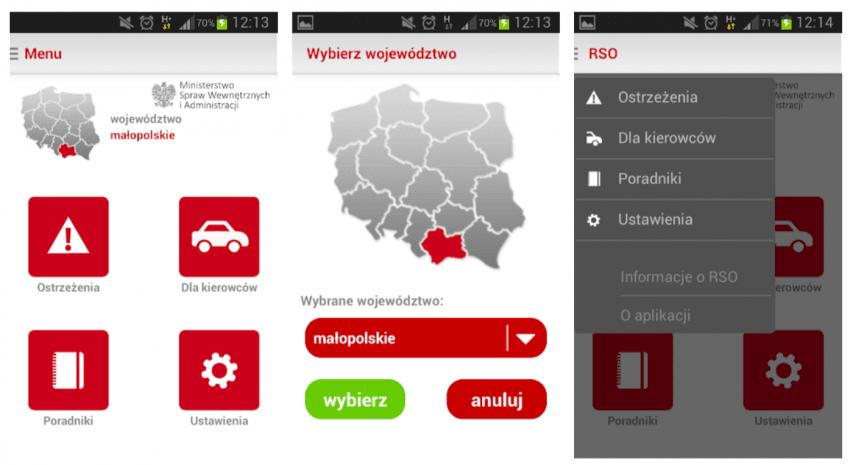 """Tabletowo.pl Nie pomyl aplikacji: """"Regionalny System Ostrzegania"""" to nie """"RSO – Regionalny System Ostrzegania""""! Aktualizacje Aplikacje Nowości"""
