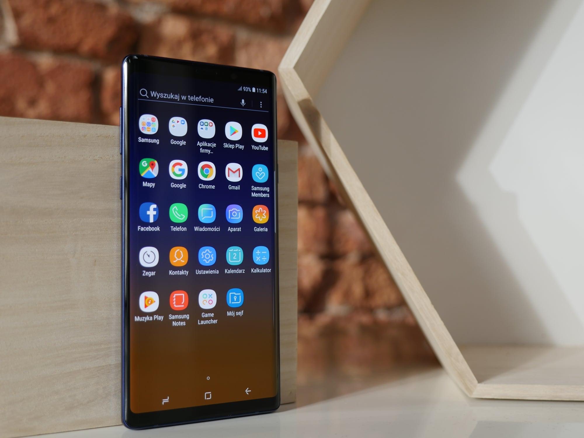 Recenzja Samsunga Galaxy Note 9. Jedni twierdzą, że nudny, inni - że prawie idealny. To jak to w końcu jest? 31