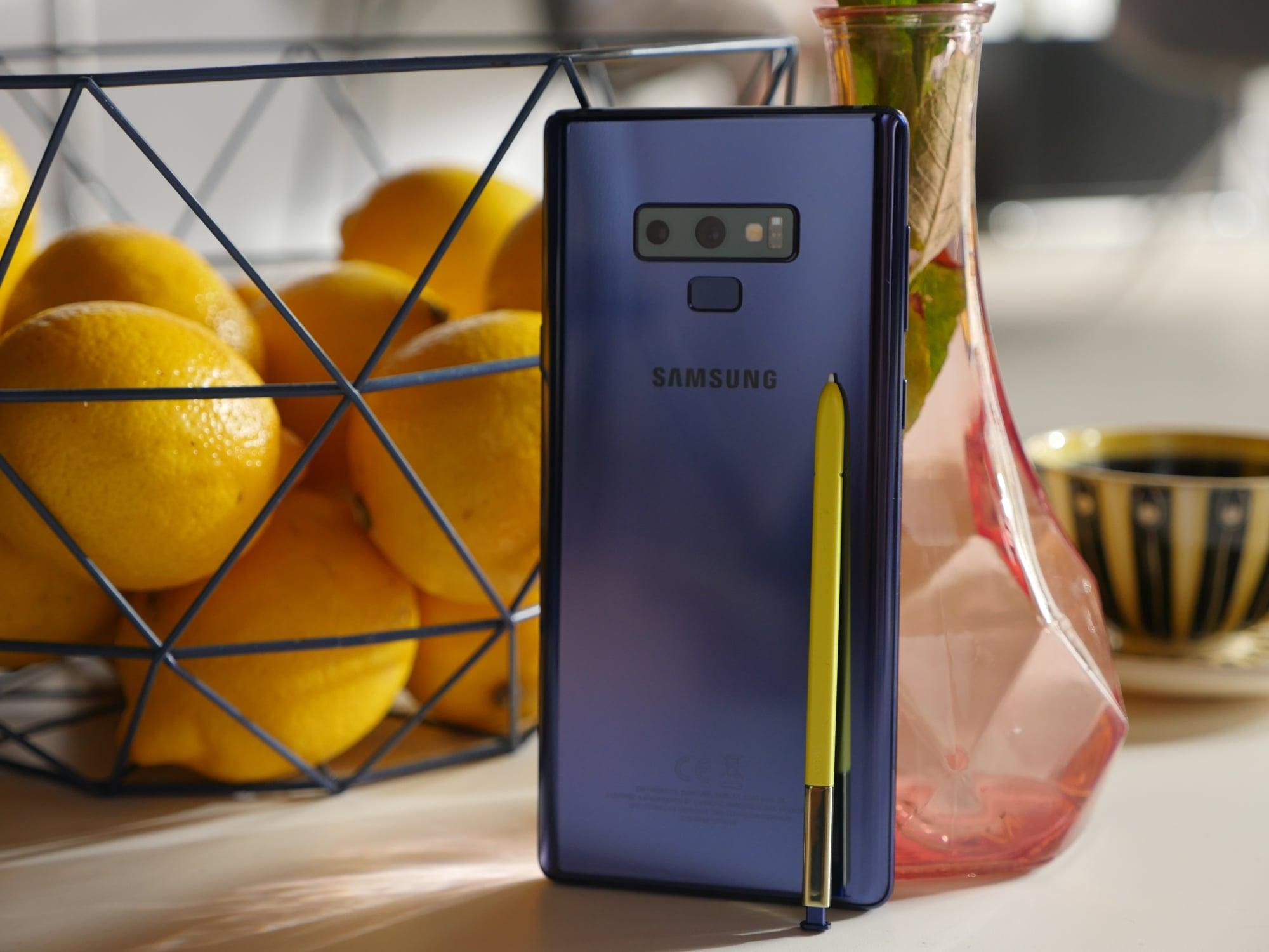 Samsung Galaxy Note 9 z aktualizacją systemu. Wśród nowości wrześniowe poprawki bezpieczeństwa i usprawnienia aparatu 18