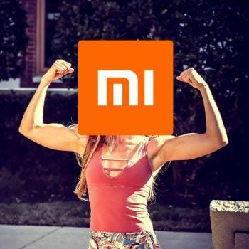 strong woman silna kobieta Xiaomi logo