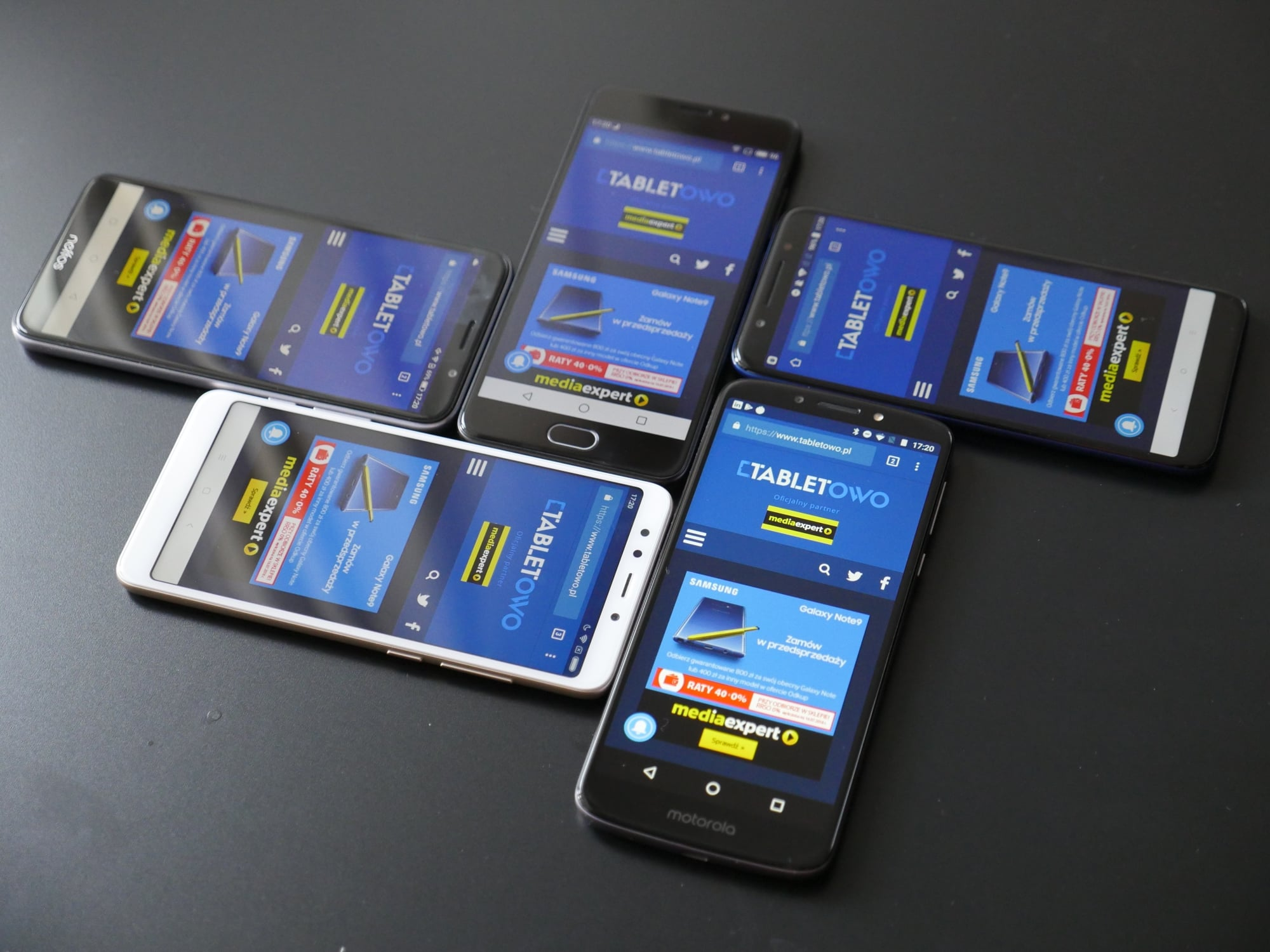 Tabletowo.pl Nasze obszerne porównanie pięciu najciekawszych smartfonów do 600 złotych - sprawdźmy czy #xiaomilepsze Alcatel Android Co kupić Meizu Motorola Nowości Porównania Smartfony Xiaomi