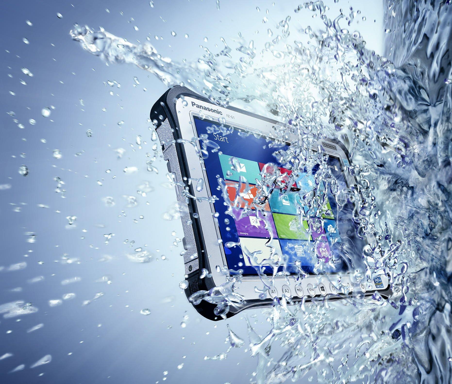 Tabletowo.pl Panasonic prezentuje nową wersję pancernego (i piekielnie drogiego) tabletu Toughpad FZ-G1 Nowości Panasonic Tablety Windows