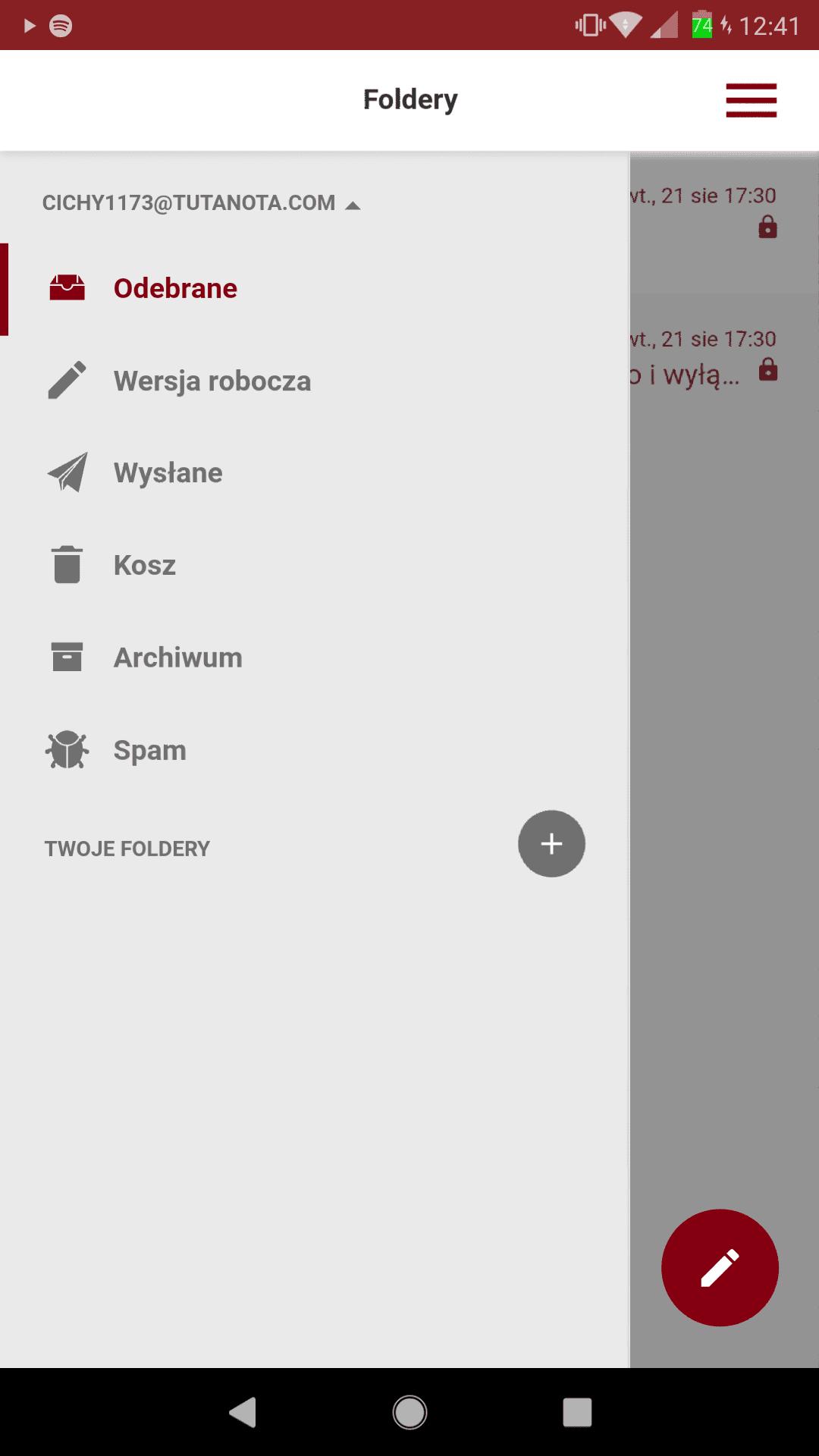 Tabletowo.pl W F-Droid pojawiła się aplikacja Tutanota - otwartoźródłowa skrzynka pocztowa z szyfrowaniem end-to-end Recenzje Aplikacji/Gier