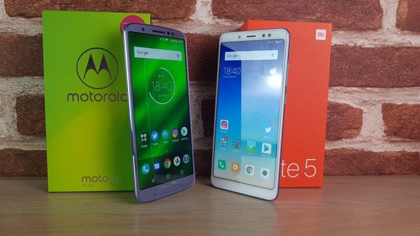 Tabletowo.pl Xiaomi Redmi Note 5 czy Motorola Moto G6 Plus? Wybór wcale nie jest oczywisty (porównanie) Android Motorola Porównania Smartfony Xiaomi