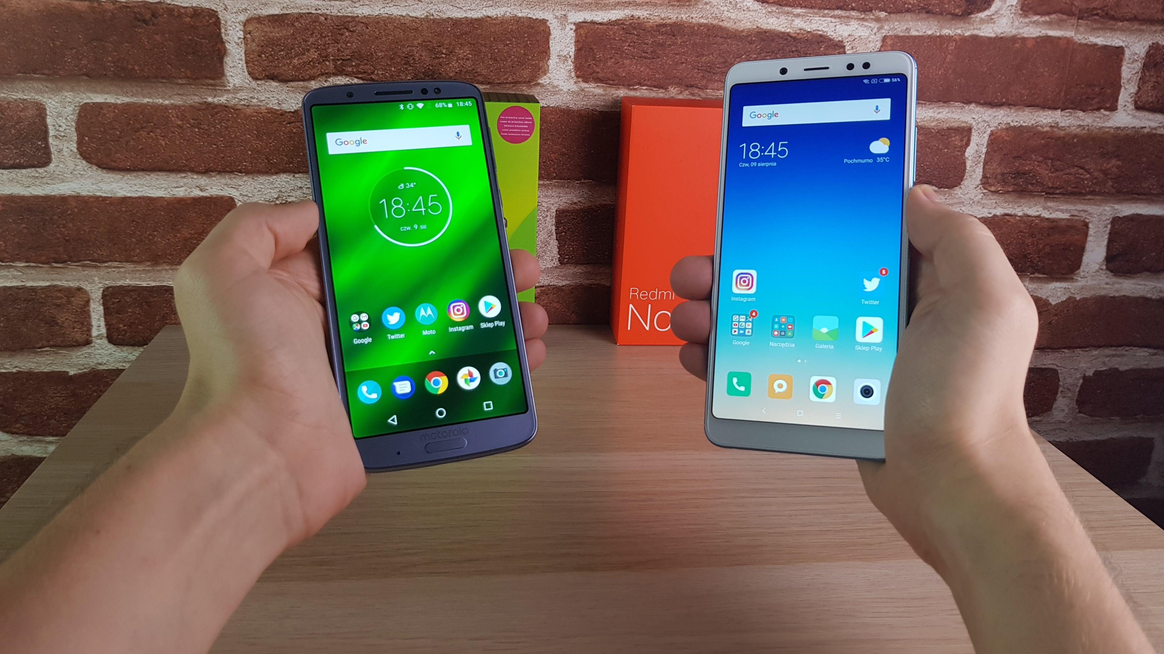 Xiaomi Redmi Note 5 czy Motorola Moto G6 Plus? Wybór wcale nie jest oczywisty (porównanie) 18