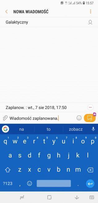 Tabletowo.pl Jak wysłać zaplanowaną wiadomość SMS na Androidzie? Android Ciekawostki Oprogramowanie Porady