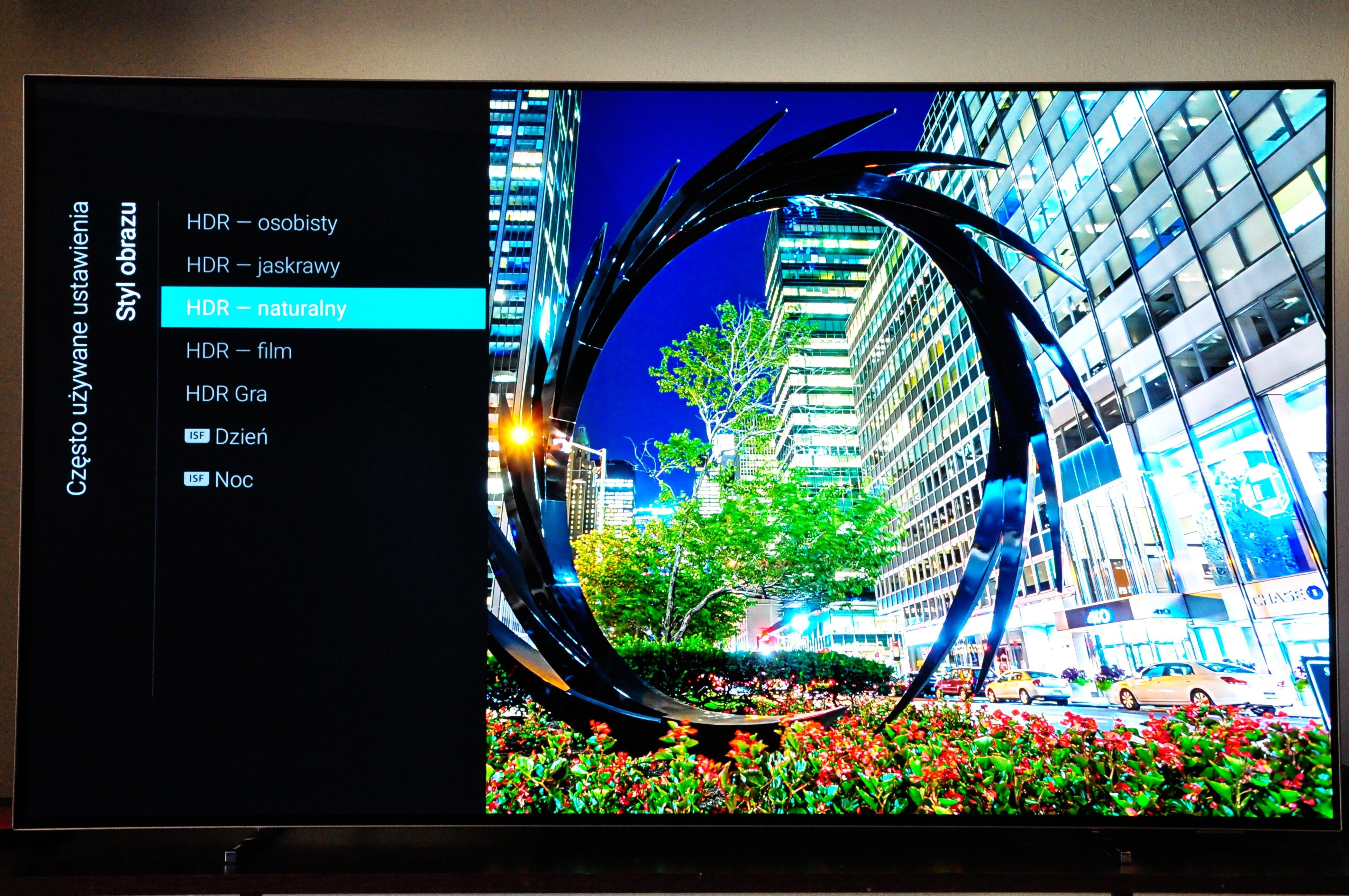 Recenzja Philips OLED 803/12 - Ambient obrazu i dźwięku 26