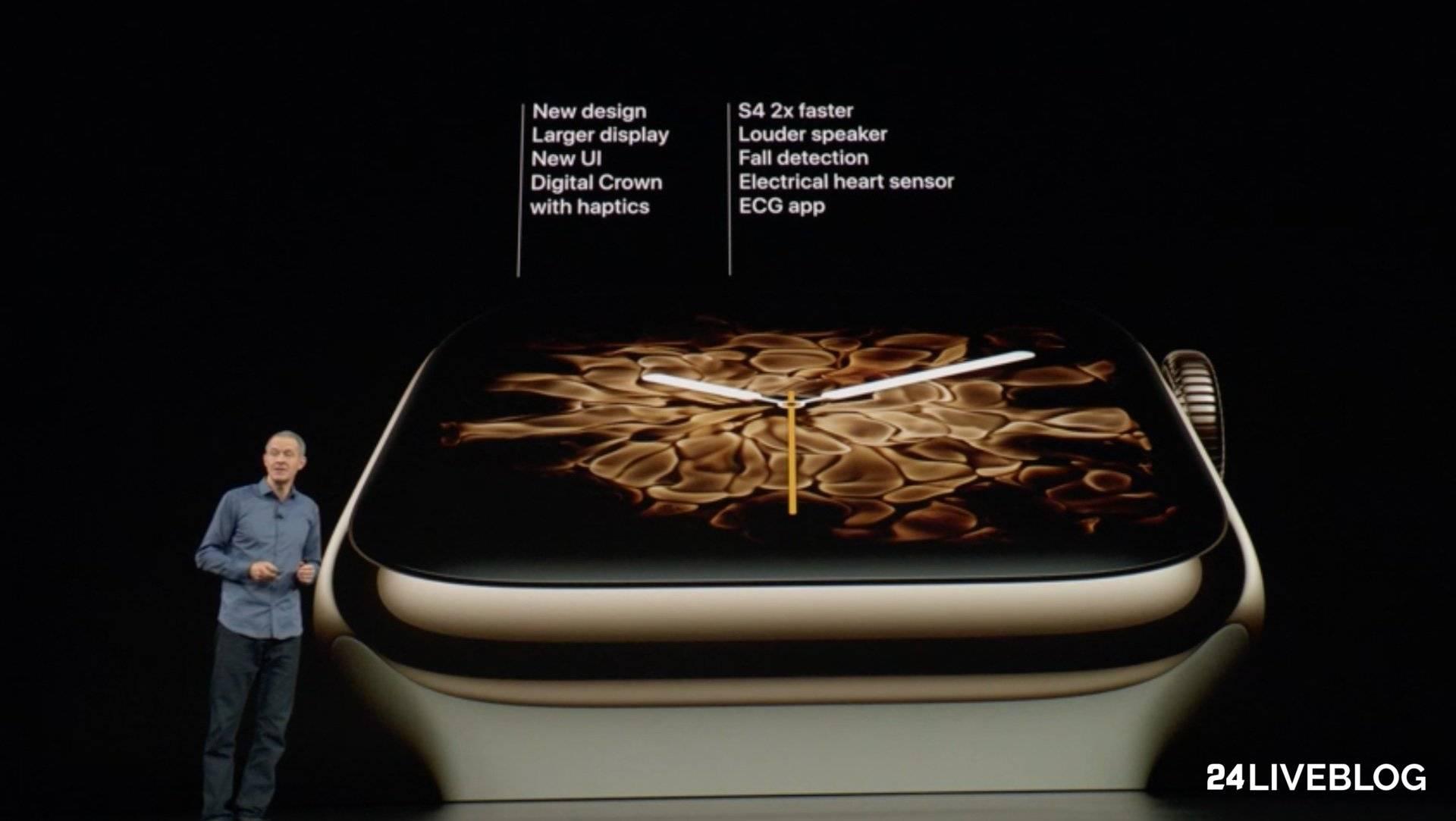Tabletowo.pl To już czwarta generacja inteligentnego zegarka Apple - oto Apple Watch series 4 Apple Nowości Wearable