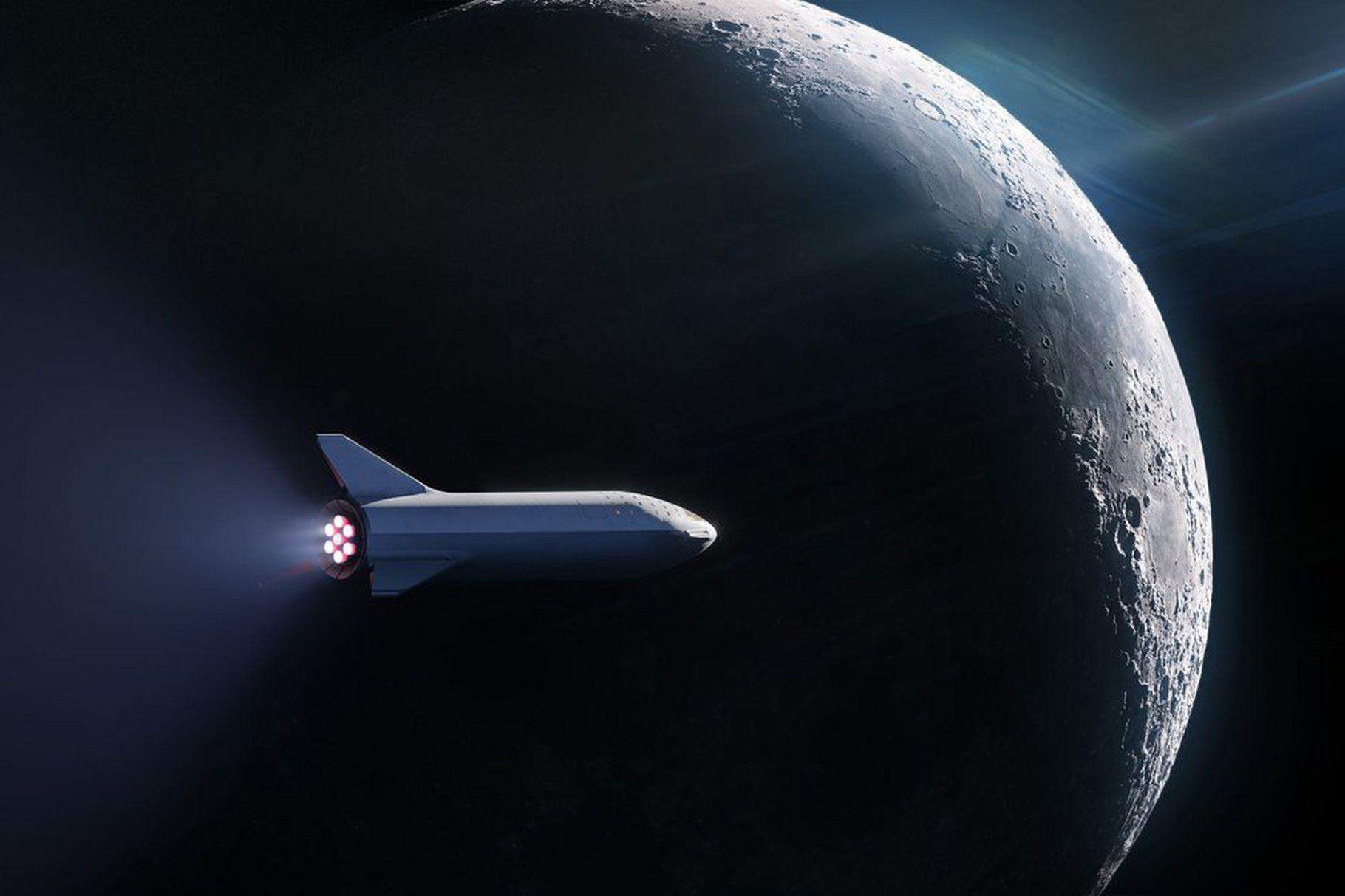 SpaceX organizuje turystyczną podróż dookoła Księżyca. Kto poleci jako pierwszy? 17